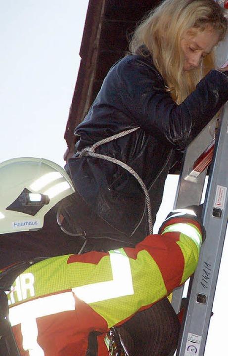 Feuerwehrübung Heuweiler  | Foto: Andrea Steinhart