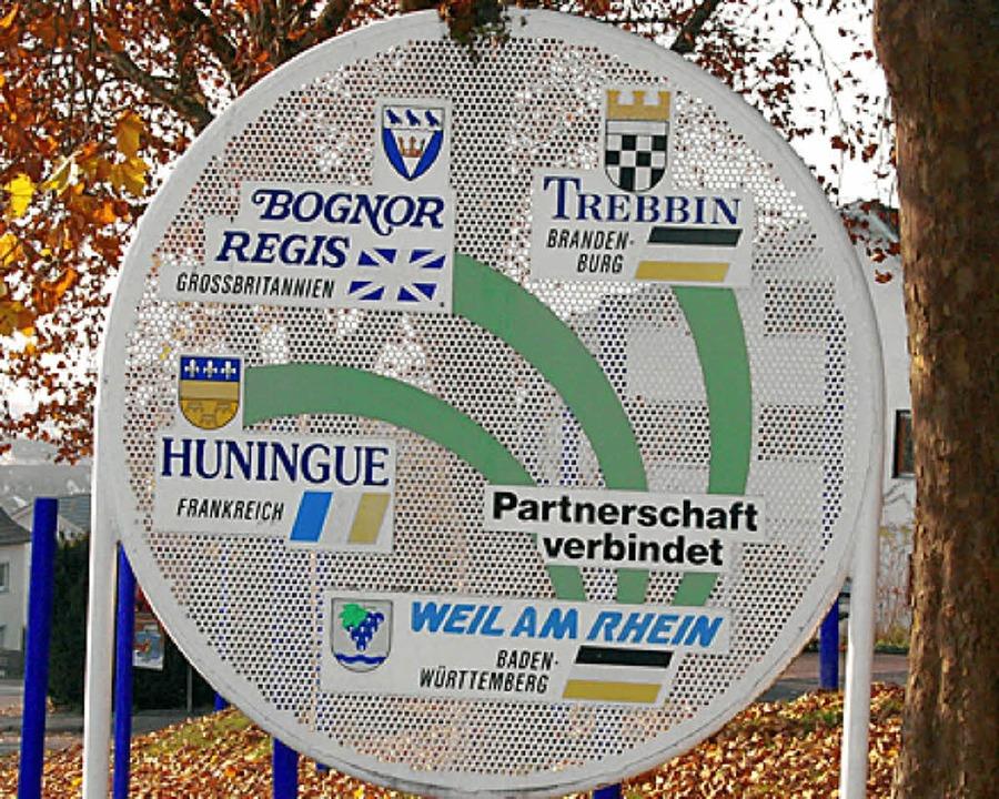 Die Verbindungen nach Huningue bestehen am längsten.     Foto: Frey