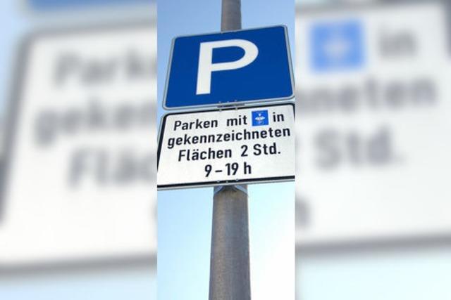 Genügend Parkplätze in der Innenstadt?