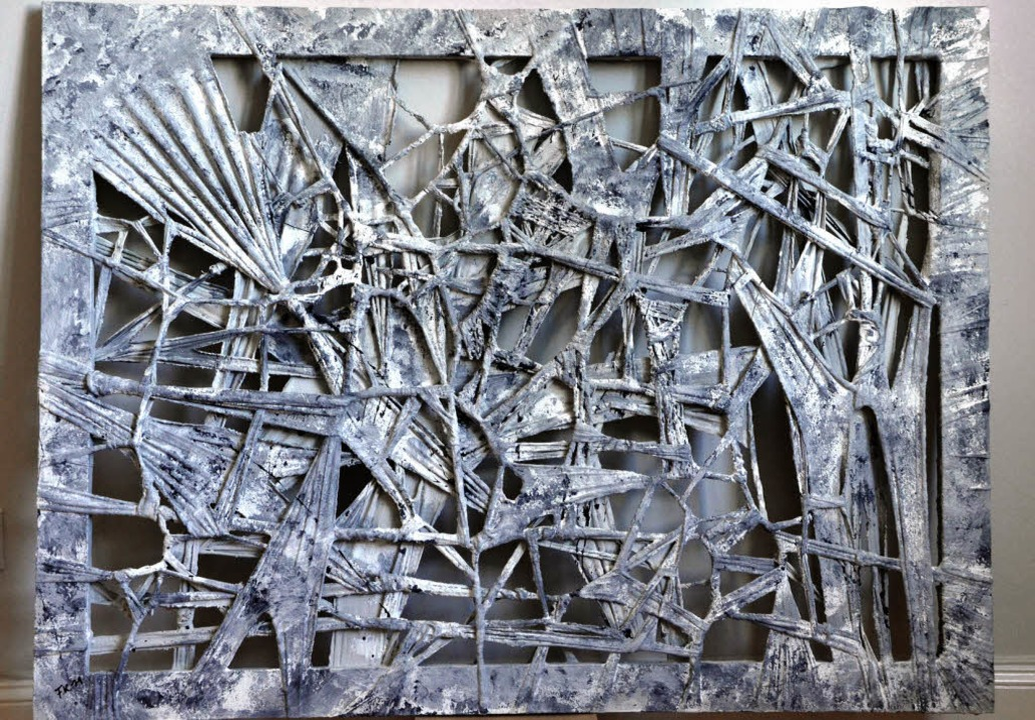 """""""connections 14 - Touch of Grey&...rk Frank Kopahnkes für die BZ-Auktion     Foto: Barbara Ruda"""