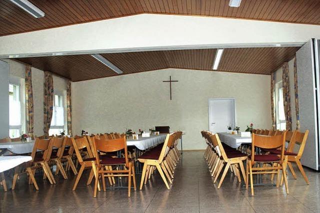 Gemeindesaal spart Energie