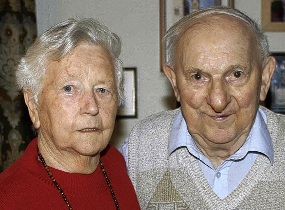 Gertrud und Friedrich Strickler   | Foto: U. Hiller