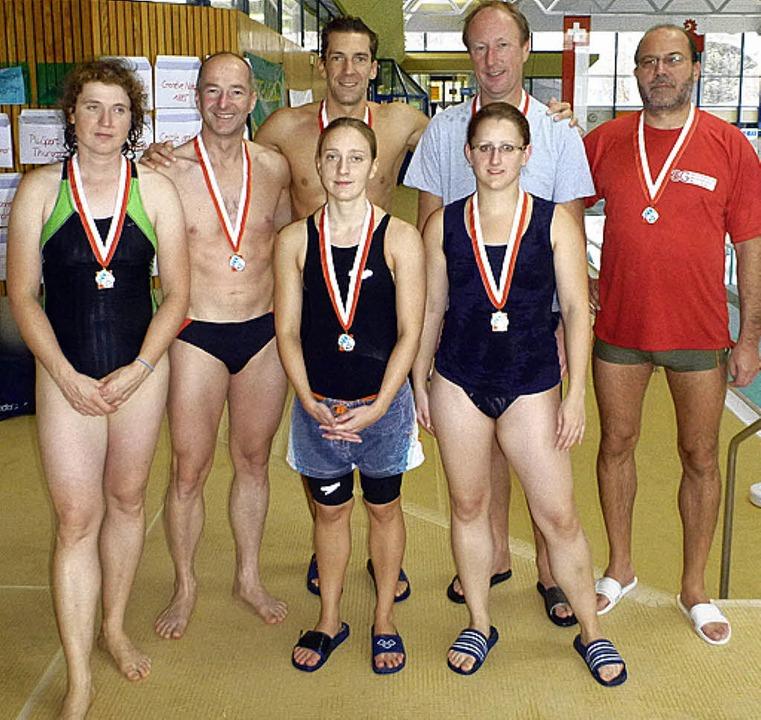 Die erfolgreiche Mannschaft der SG Badenweiler-Neuenburg  | Foto: Veranstalter