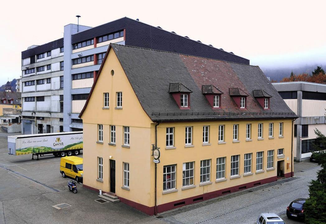 Wird in der Ganterkantine bald  ein Literaturhaus eingerichtet?  | Foto: kunz