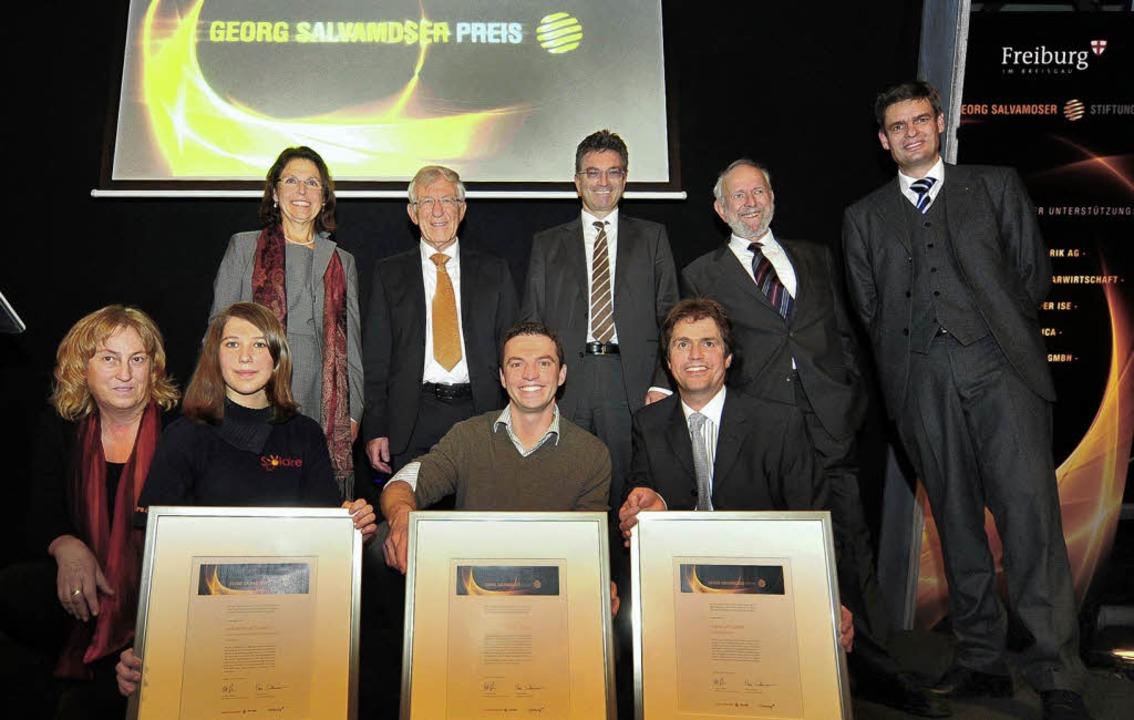 Neue Ideen für erneuerbare Energien: I...der Georg-Salvamoser-Preis verliehen.   | Foto: Thomas Kunz