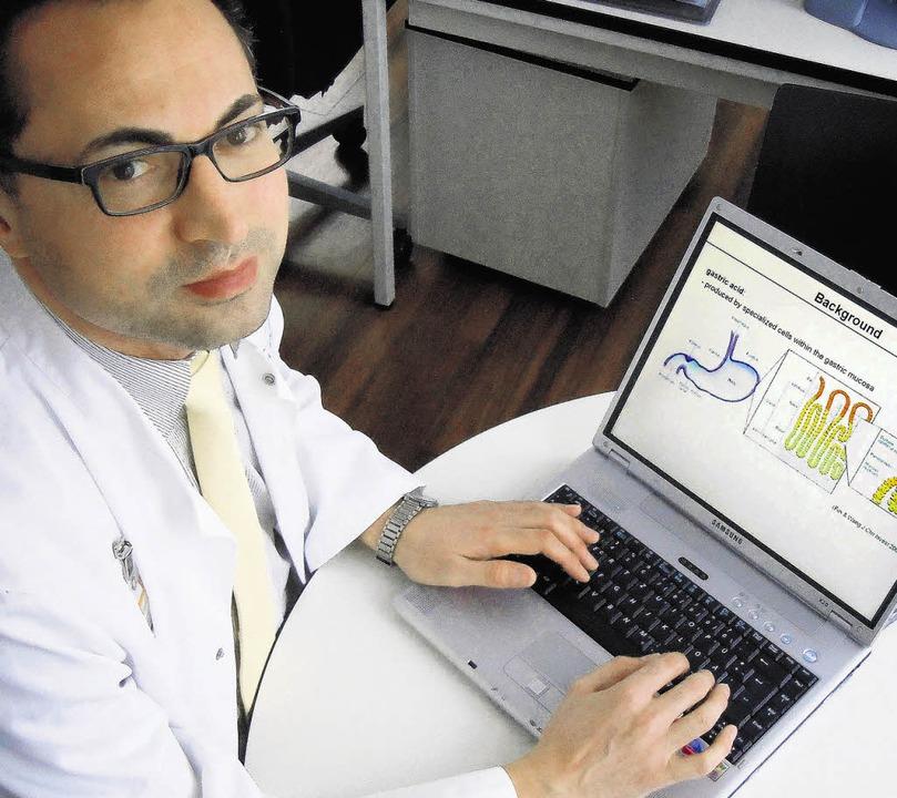 Der Internist Hasan Kulaksiz, seit Mai 2011 Chefarzt am Waldshuter Krankenhaus.   | Foto: Gerard