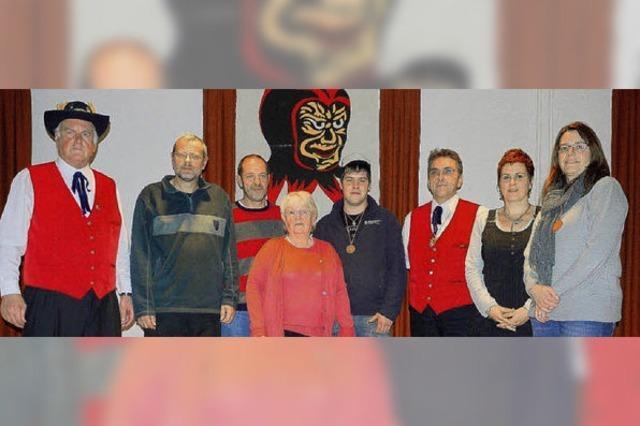 Vier neue Ehrenmitglieder gekürt