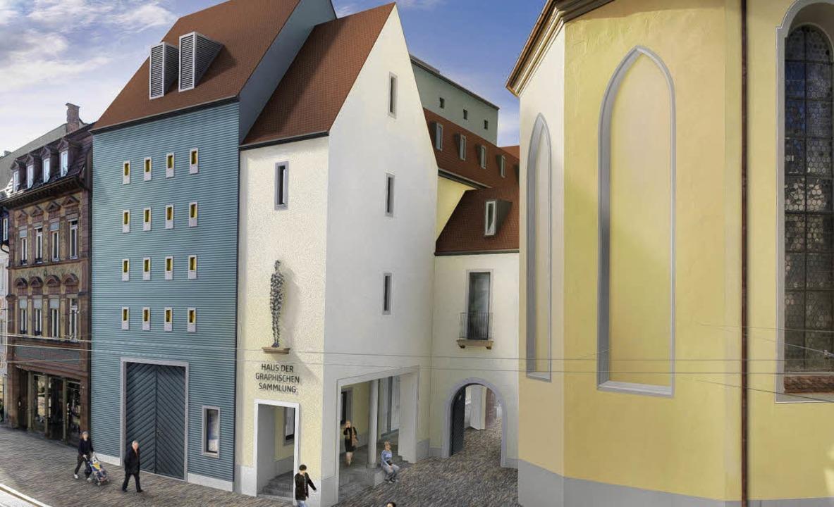 | Foto: Entwurf Architekturbüro Prof. Mäckler,...: 07661-7400 Markus Dold, www.gd90.de