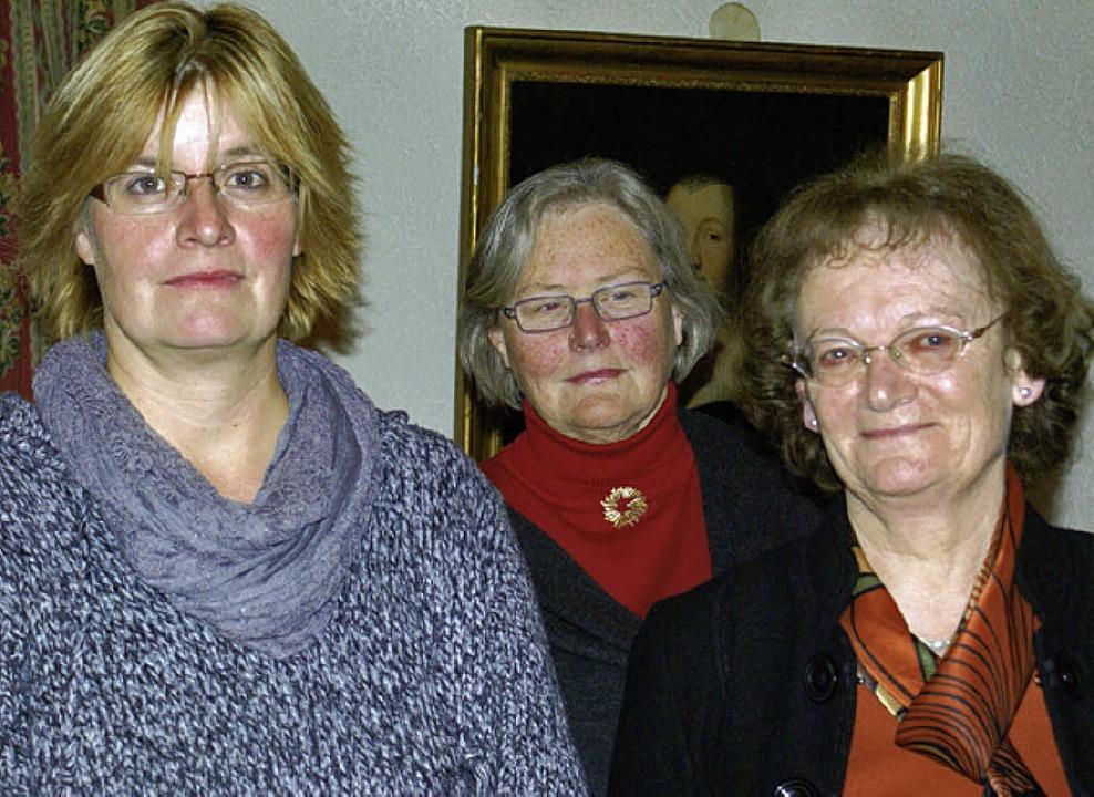 Die neugewählten Vorstandsmitglieder (..., Petra Dossenbach und Britta Kaiser.   | Foto: Werner Probst