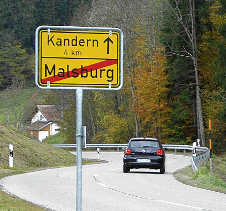 Von Malsburg-Marzell geht es am bequem...m Auto Richtung Kandern und Lörrach.    | Foto: BZ