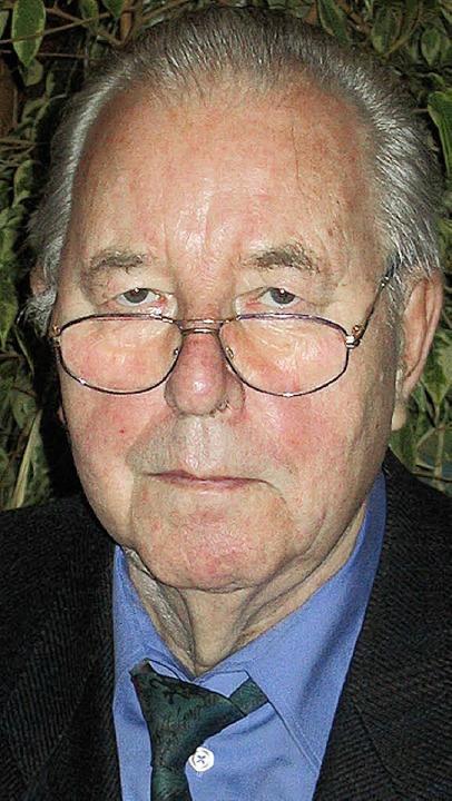 Mit 79 Jahren gestorben: Wilfried Zimm...tzender der Sozialstation Heilig Geist  | Foto: Michael Gottstein