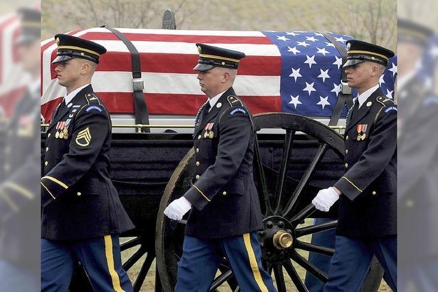 Überreste von US-Soldaten wurden verbrannt und entsorgt