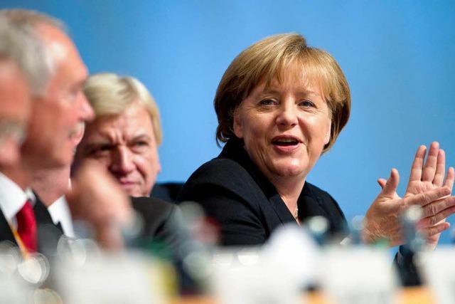 Merkel erfüllt ihr Soll