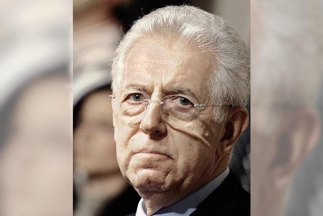 Italiens designierter Ministerpräsident Mario Monti