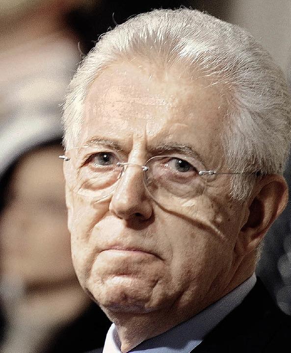 Mario Monti   | Foto: AFP
