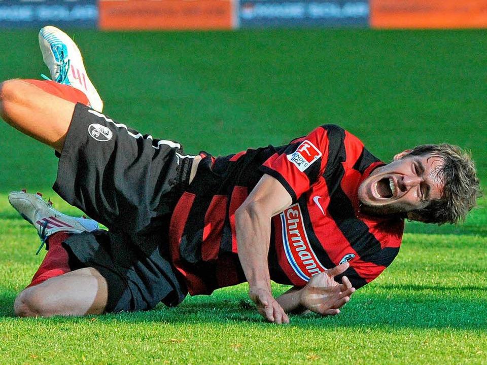 Fällt gegen Hertha BSC wohl aus: Julian Schuster.  | Foto: Michael Heuberger