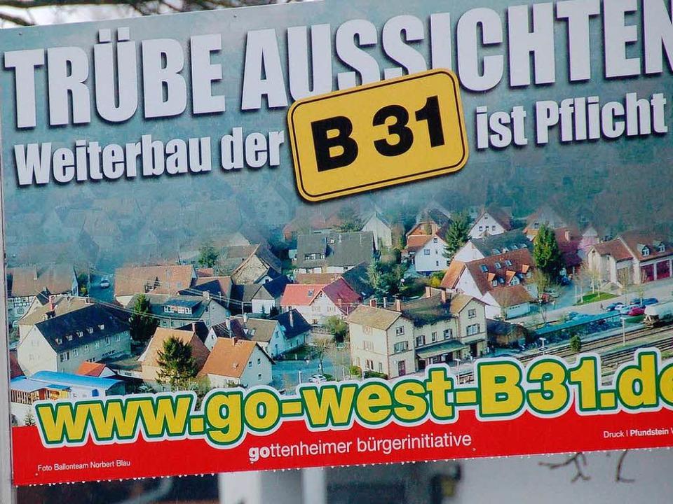 In Ihringen wehrt man sich gegen den V... die B31 West mit verursacht zu haben.    Foto: Agnes Pohrt