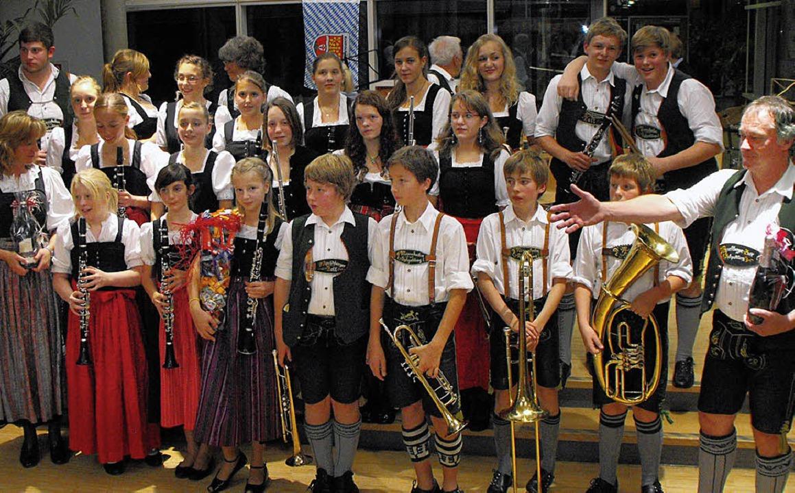 Jungmusiker aus Ruhpolding besuchten I...r Jugendkapelle Ihringen-Wasenweiler.   | Foto: privat