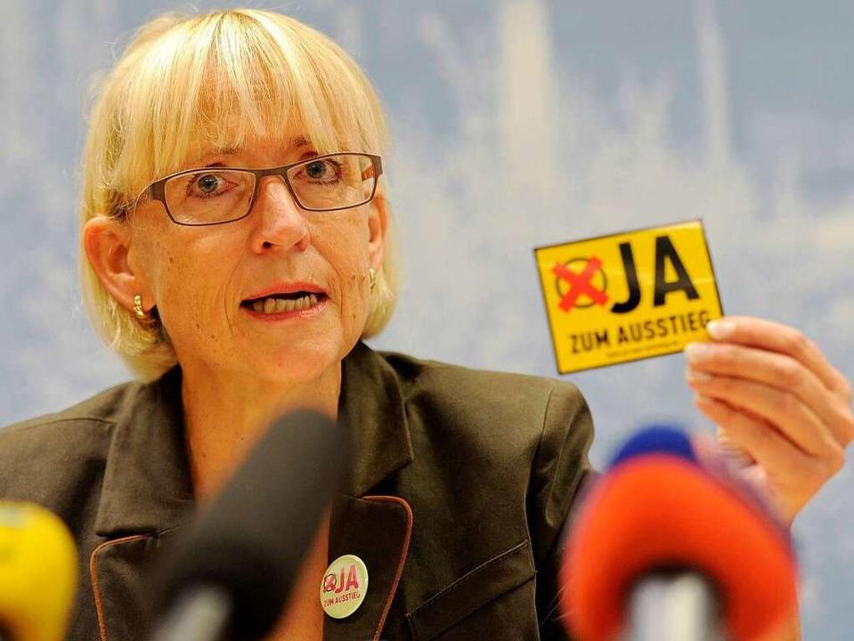 Brigitte Dahlbender will den Ausstieg.  | Foto: dpa
