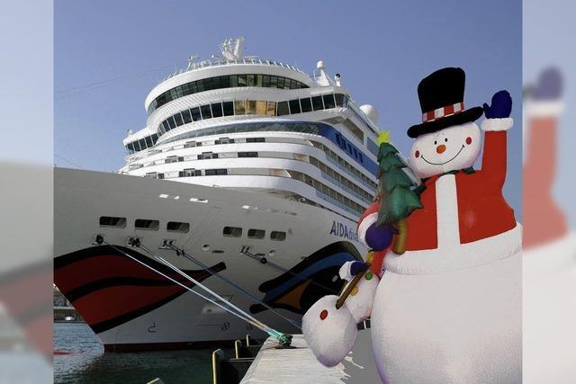 Draußen Karibik, drinnen Weihnachten