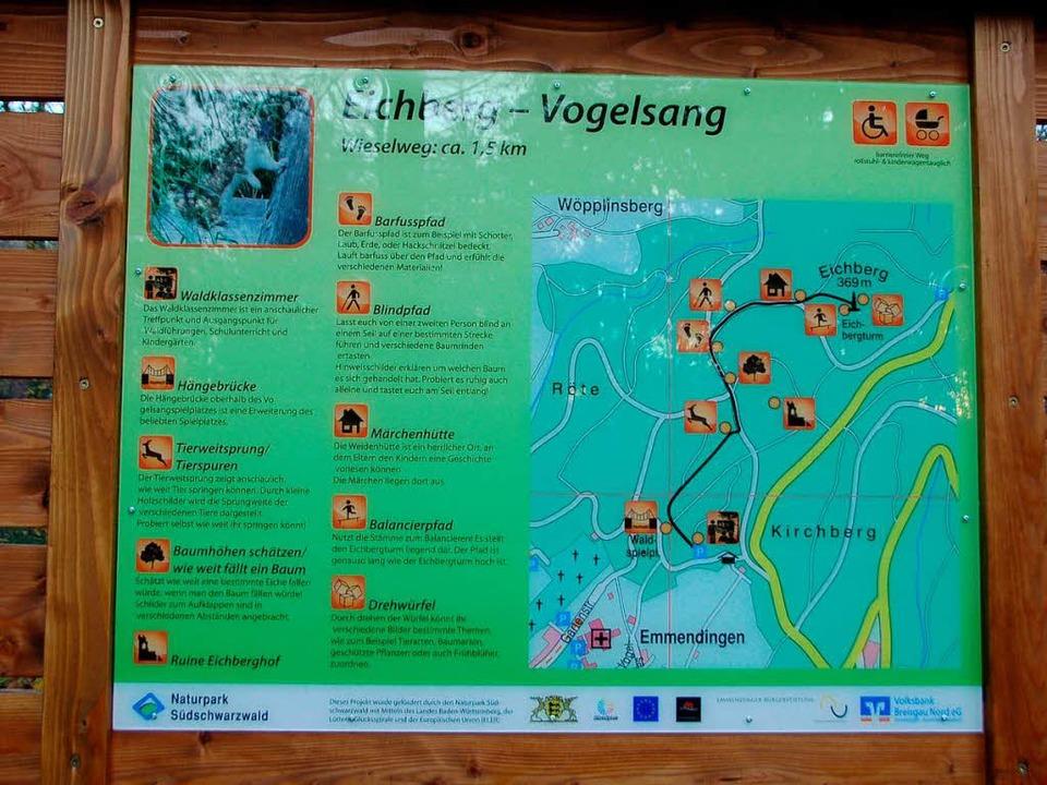 Den Lageplan gibt's auch als Flyer.  | Foto: Gerhard Walser