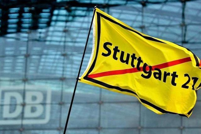 Umfrage: Mehrheit ist gegen Ausstieg aus Stuttgart 21