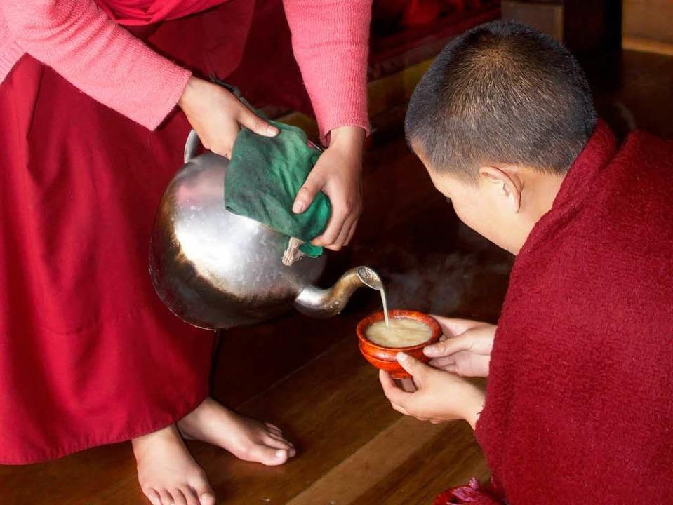 Ein kleiner Blick in das Leben von tibetisch-buddhistischer Nonnen.    Foto: Veranstalter