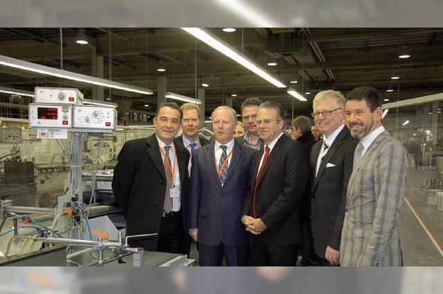 BfA-Chef Weise besucht Faller: Verantwortung für Mensch und Firma