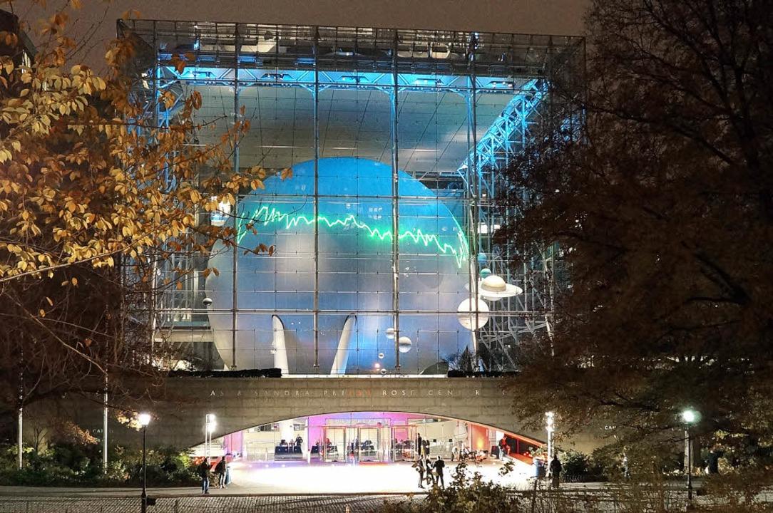 Tim Otto Roth aus Oppenau, Lichtkunstausstellung am Americain Museum of Natural  | Foto: Tim Otto Roth