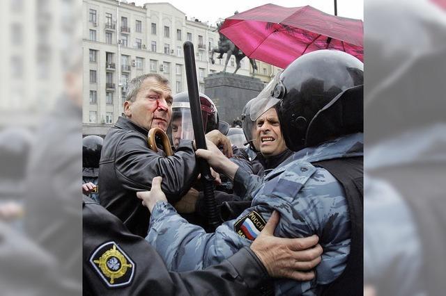 Russland diskriminiert Homosexuelle