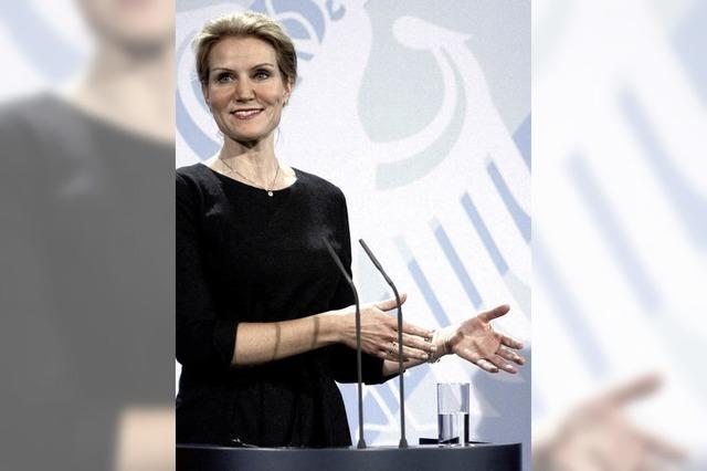 Ministerpräsidentin Thorning-Schmidt glaubt an Europa