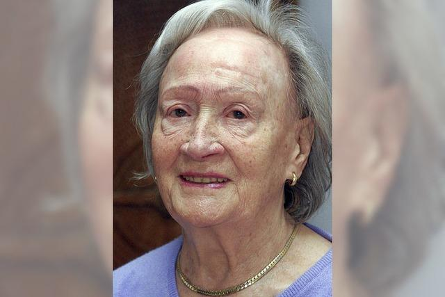Else Bratzler feiert heute 90. Geburtstag