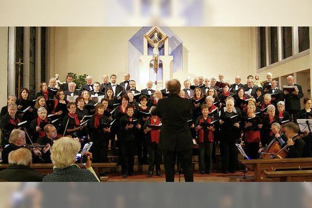 Ein Chorkonzert zu acht Stimmen