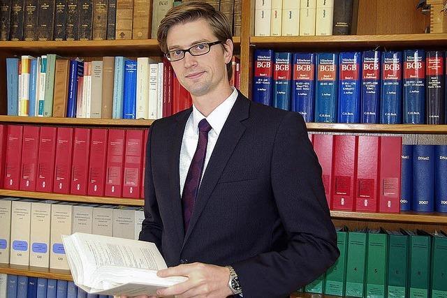 Neuer Notar jetzt im Amt
