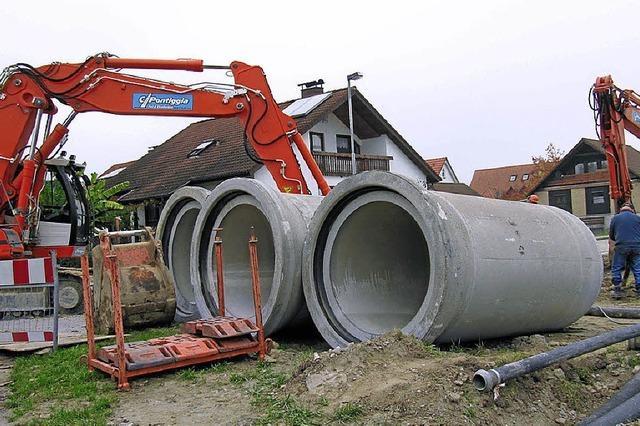 Kanalnetz soll entlastet werden