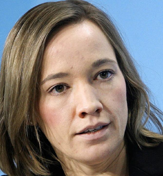 Kristina Schröder (CDU)     Foto: DPA