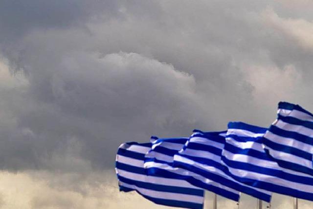 Schicksalsbudget in Athen