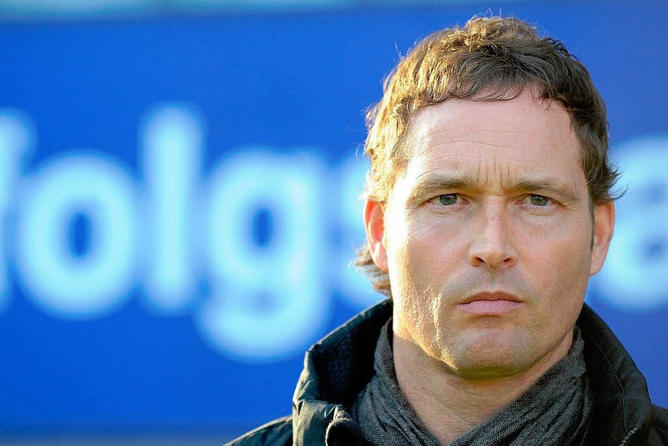 Vor dem Spiel: SC-Trainer Marcus Sorg. (Foto: dpa)