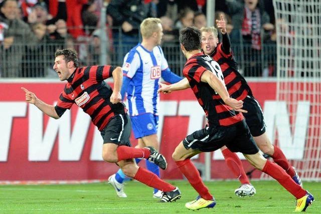 Freiburg erkämpft ein 2:2 gegen Hertha BSC