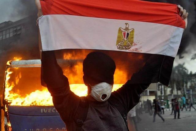 Heftige Ausschreitungen in Kairo: Hunderte Verletzte