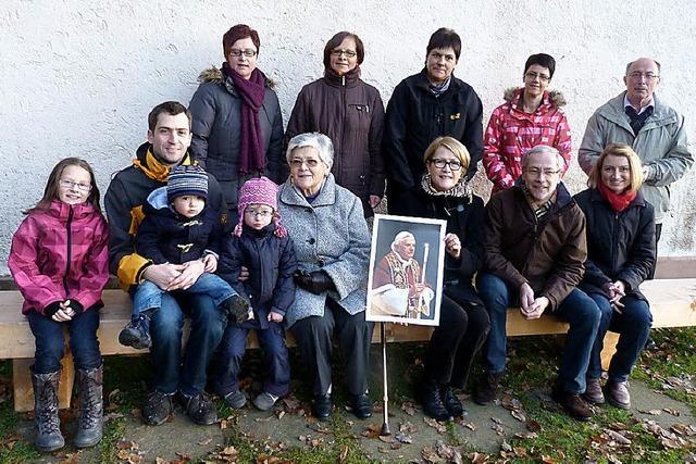 Marienkapelle mit Papstbank