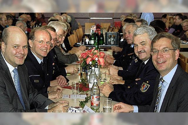 Ehrenamtliches Engagement trägt die Feuerwehren