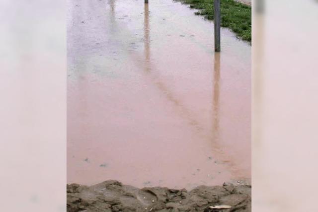 Gesplittete Abwassergebühr zunächst für zwei Jahre ausgesetzt