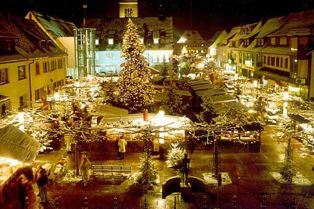 Neuenburg wird wieder weihnachtlich