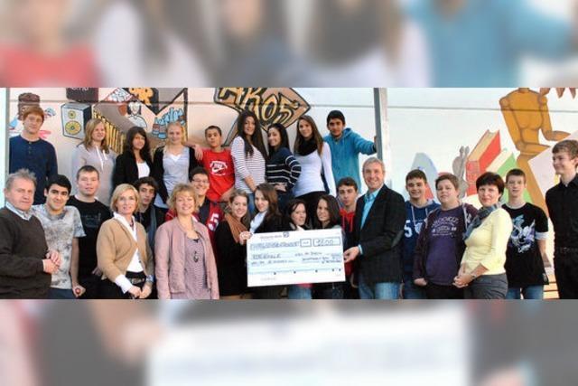 Gala bringt 1800 Euro für die Realschule