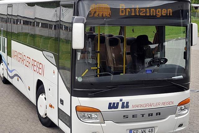 Nur nach Britzingen geht's kostenlos