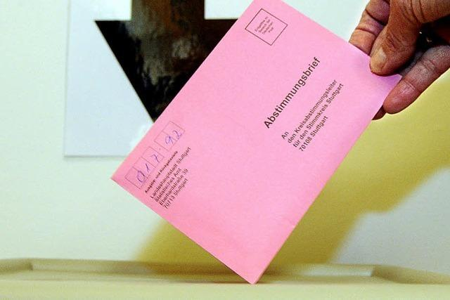 S 21: 13 939 Bürger dürfen abstimmen