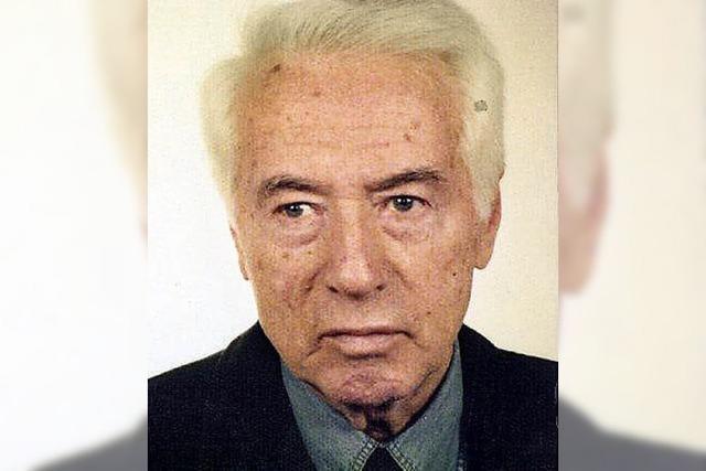 Wolfgang Koye starb im Alter von 88 Jahren
