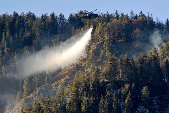 In Bayern brennt der Wald