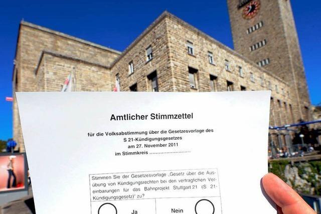 Stuttgart 21 ist auch am Kaiserstuhl ein Thema